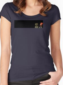 Pootoo and Beaker Women's Fitted Scoop T-Shirt
