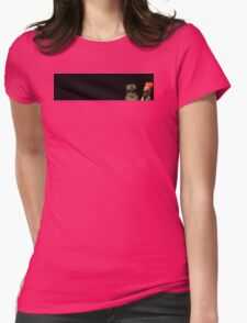 Pootoo and Beaker Womens Fitted T-Shirt