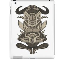 Buffalo Warrior Totem iPad Case/Skin