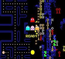 Pac-Man Killscreen by PKHalford