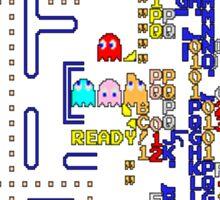 Pac-Man Killscreen Sticker