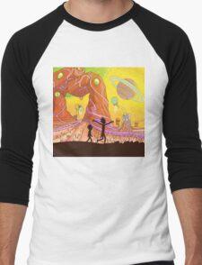 Rick and Morty Men's Baseball ¾ T-Shirt