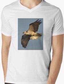 Osprey Fishing Mens V-Neck T-Shirt