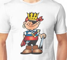 Mardi Gras King New Orleans NOLA Unisex T-Shirt