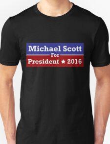 Michael Scott for President T-Shirt
