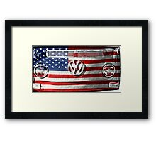 USA VW Framed Print