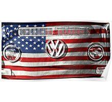 USA VW Poster