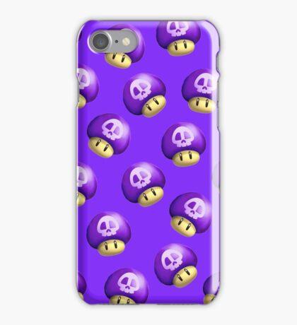 Mario Purple Mushroom iPhone Case/Skin