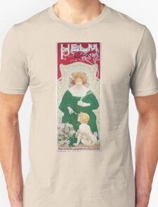 Vintage Art Nouveau Advertisement for Helm Cacao Unisex T-Shirt