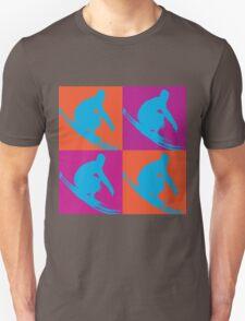 Surf Pop Art  T-Shirt