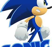 Sonic The Hedgehog Speed  by zaukhes