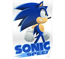 Sonic The Hedgehog Speed  Poster