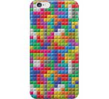 Seamless Color Block Pattern iPhone Case/Skin