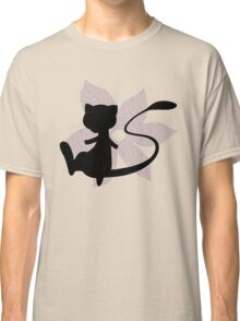 Mew Flower Silhouette Classic T-Shirt