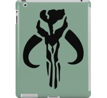 Mandalorian (black) iPad Case/Skin