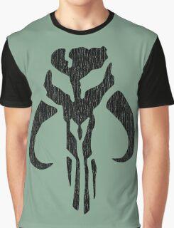 Mandalorian (black, distressed) Graphic T-Shirt