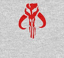 Mandalorian (red, distressed) Unisex T-Shirt