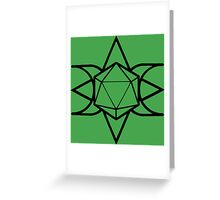 d20 Rebellion Greeting Card