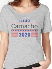 Re-Elect Camacho Stars and Stripes Women's Relaxed Fit T-Shirt