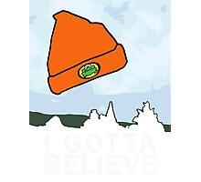 I Gotta Believe/X-Files Photographic Print