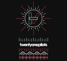 Twenty One Pilots Aztec Design by tiernanmca