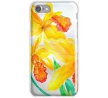 yellow orchid  iPhone Case/Skin