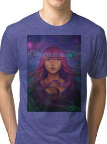 Worlds Revolve Around Her Tri-blend T-Shirt