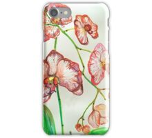 red orchid iPhone Case/Skin