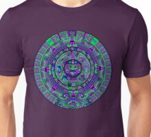 Psychedelic Mayan Calendar Unisex T-Shirt