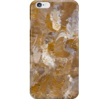 Feathers in Gold iPhone Case/Skin