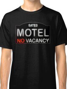 Bates Motel Sign Classic T-Shirt