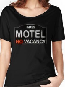 Bates Motel Sign Women's Relaxed Fit T-Shirt