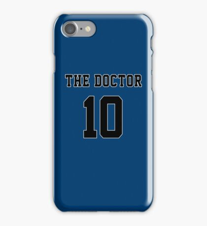 The Doctor - 10 iPhone Case/Skin