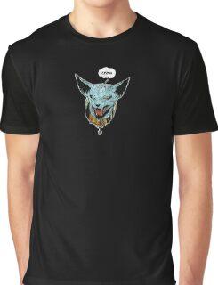 Saga - Lying Cat Graphic T-Shirt