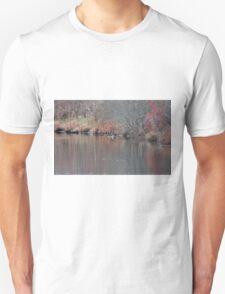 Peaceful pond Unisex T-Shirt