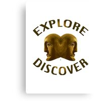 Explore And Discover Canvas Print