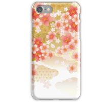 Beautiful cherry blossoms of Japan iPhone Case/Skin
