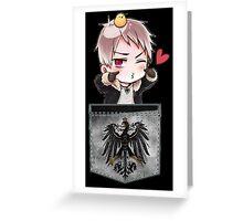 Prussia Pocket Chibi Greeting Card