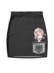 Prussia Pocket Chibi Mini Skirt