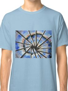 Blue Abstract Mosaic Classic T-Shirt
