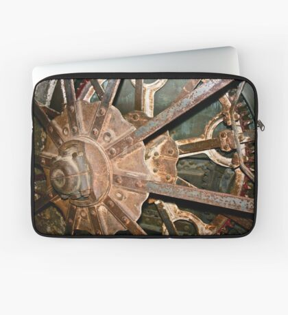 Machine Gears 1 Laptop Sleeve