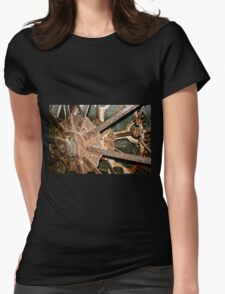 Machine Gears 1 Womens Fitted T-Shirt