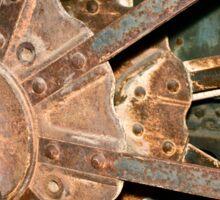 Machine Gears 1 Sticker