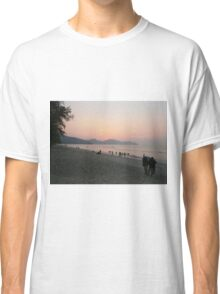 Tropical Beach Sunset Classic T-Shirt