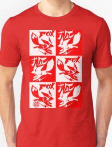 FOX !  Just the Fox.  ( With Kitsune ) Unisex T-Shirt