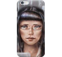 Office girl iPhone Case/Skin
