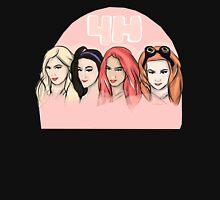 """""""4H"""" Sasha Banks, Becky Lynch, Bayley, Charlotte Unisex T-Shirt"""
