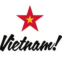 A star for Vietnam Photographic Print