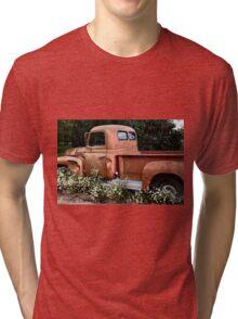 International L-110 in Flowers Tri-blend T-Shirt