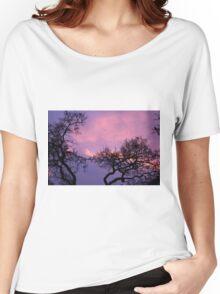 Tonight's Sunet Women's Relaxed Fit T-Shirt